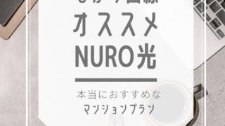 NURO マンション 遅い レビュー
